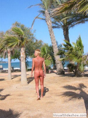 <br/>The way to the Beach<br/><br/>The Playa Vera is a Nudist hotel resort ...