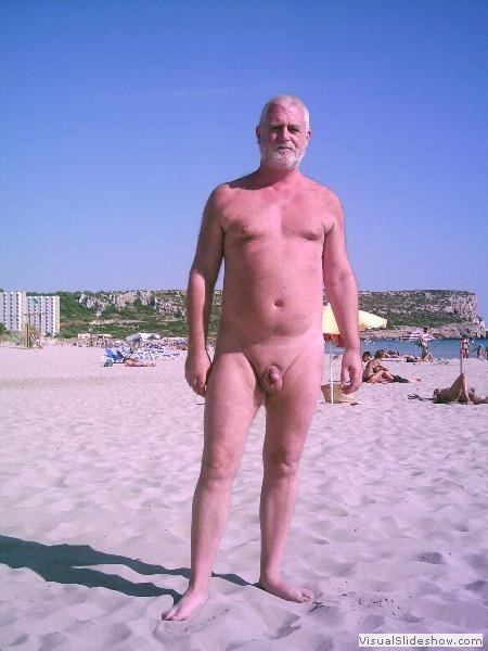 Son Bou 2008<br/><br/>Gerry on our favourite Island ... lucky man I'd like a day on sunny Son Bou Beach<br/><br/>