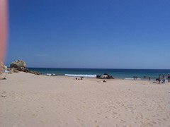 Zavial Beach<br/><br/>Well just a liitle short of Sagres on the south facing coast ...